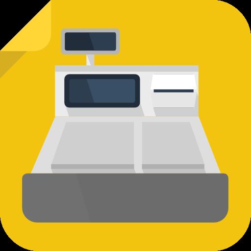 Cashier, Pos, Cash Register, Point Of Sale, Supermarket Icon Free