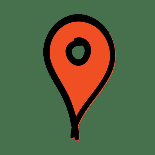 Location Pointer Travel Icon