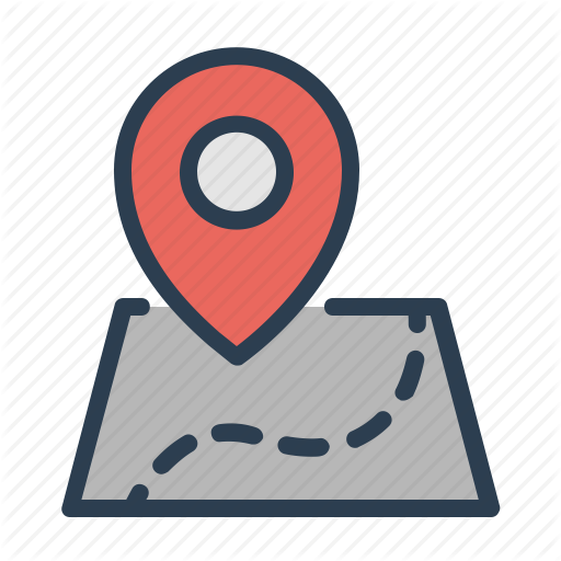 Aami Flat Map, Pins And Navigation'