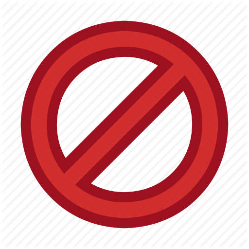 Blocked, Cursor, Disabled, Forbidden, Mouse, Pointer Icon