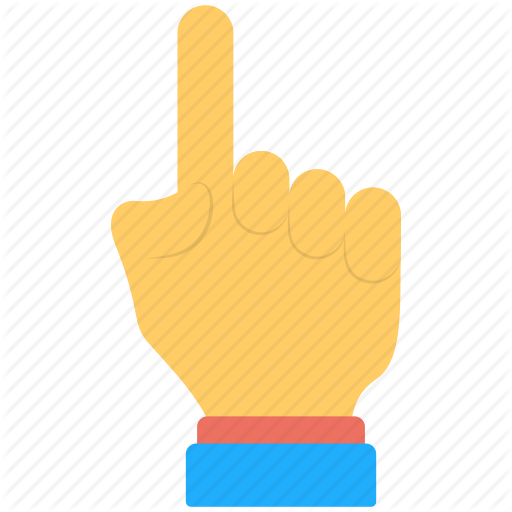 Five Fingers, Hand Gesture, Hand Sign, Index Finger, Pointing