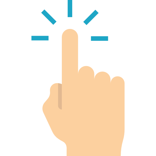 Gesture, Gestures, Tap, Pointing, Hands, Finger Icon