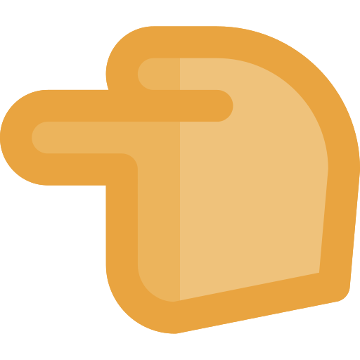 Pointing Left Finger Png Icon