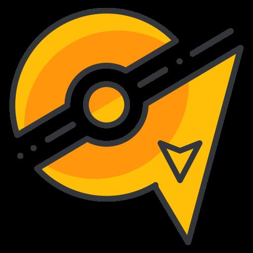 Zapdos, Play, Go, Pokemon, Pokeball, Game Icon