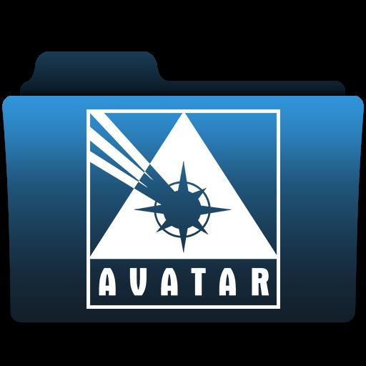 Avatar, Folder Icon Free Of Comic Publisher Folder Icons