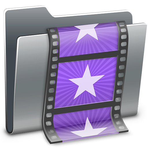 Movies, Folder Icon Free Of Hyperion Icons