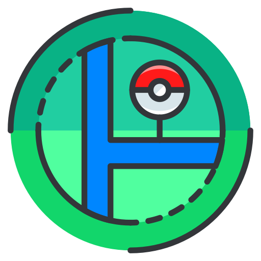 Map, Pokemon, Go, Location, Game, Play Icon