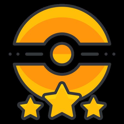 Game, Go, Poke, Pokemon, Star, Three, Trainer Icon