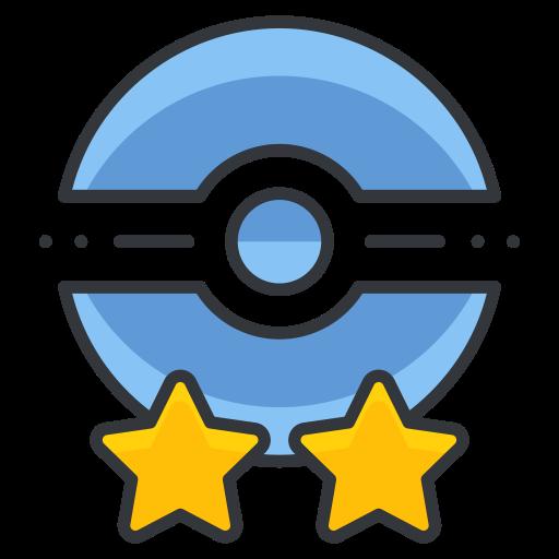 Game, Go, Poke, Pokemon, Star, Trainer, Two Icon