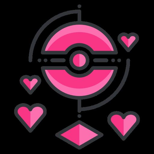 Love, Pokemon, Virtual, Reality, Pokemon Go, Game Icon Free