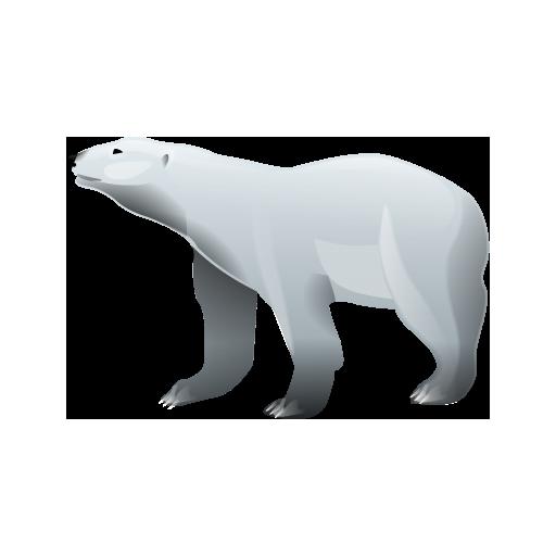 Polar Bear Icon Bear Necessity Korea Saving Korea