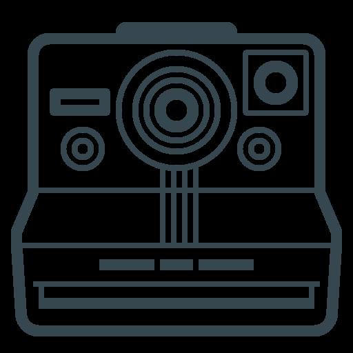 Device, Camera, Image, Polaroid, Photos, Photography Icon