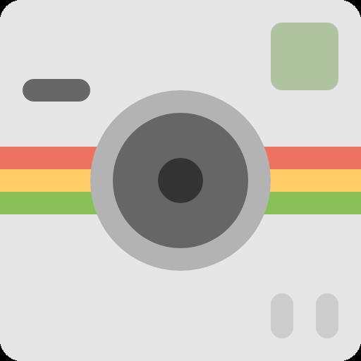 Polaroid, Socialmatic, Camera, Photo Icon Free Of Free Flat Icons