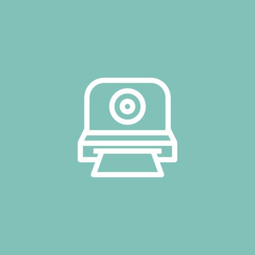 Polaroid, Camera, Design Icon Free Of Designer Line Icons