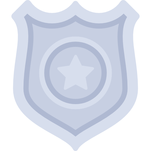 Signs, Security, Shield, Police, Police Badge, Badge Icon