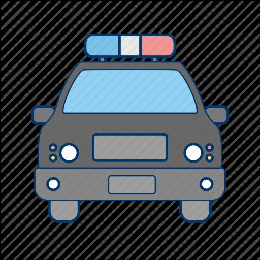 Car, Cop, Police Car Icon