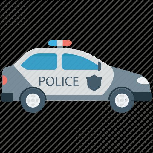 Cop Car, Police Car, Police Cruiser, Police Vehicle, Transport Icon
