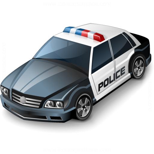 Iconexperience V Collection Police Car Icon