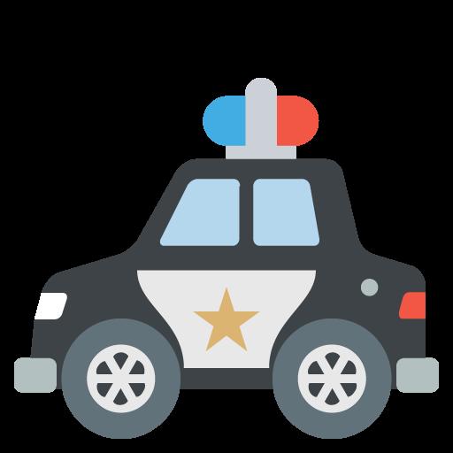 Police Car Emoji Vector Icon Free Download Vector Logos Art