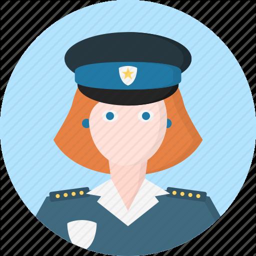 Avatar, Police, Woman, Women Icon