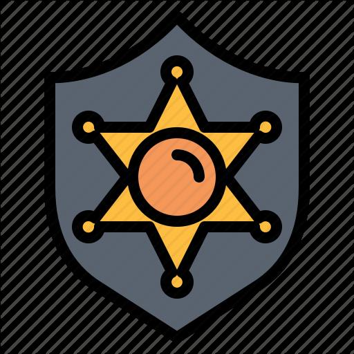 Badge, Ornament, Police Icon
