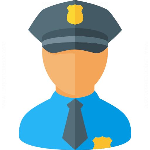 Iconexperience G Collection Policeman Icon