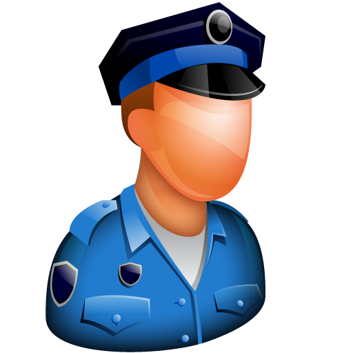 Police, Avatar, Person Icon Free Of Free Large Boss