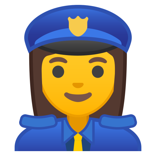 Woman Police Officer Icon Noto Emoji People Profession Iconset