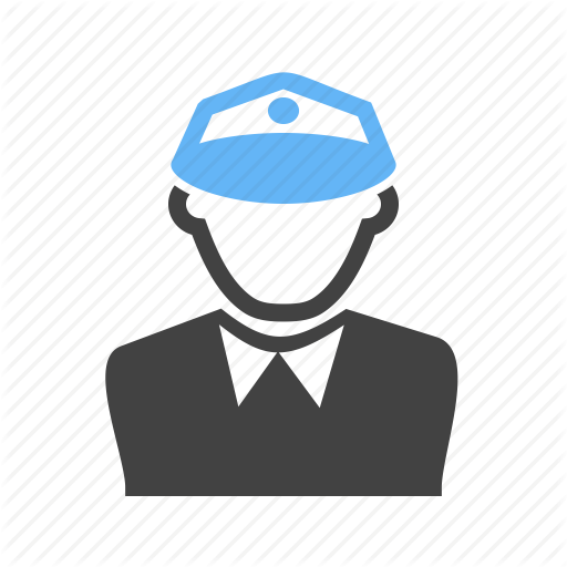 Boss, Man, Officer, Police Icon