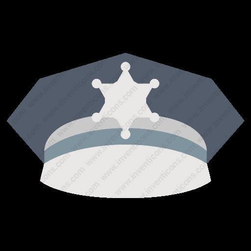 Download Police,hat Icon Inventicons