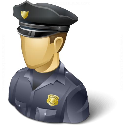 Iconexperience V Collection Policeman Usa Icon