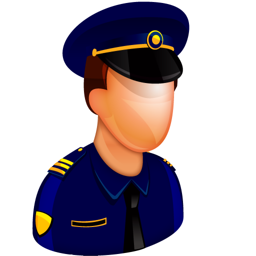Police Officer Icon Free Large Boss Iconset Aha Soft