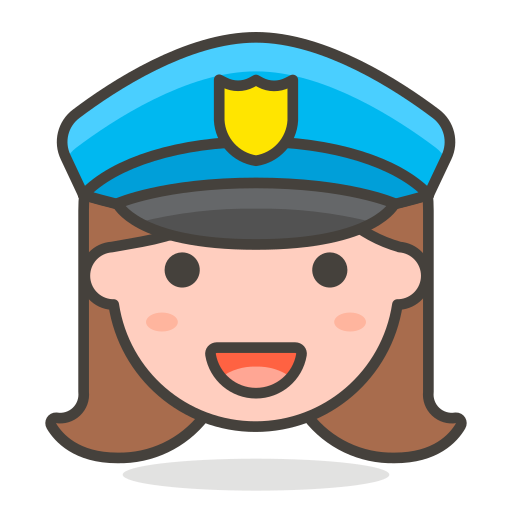 Woman, Police, Officer Icon Free Of Free Vector Emoji