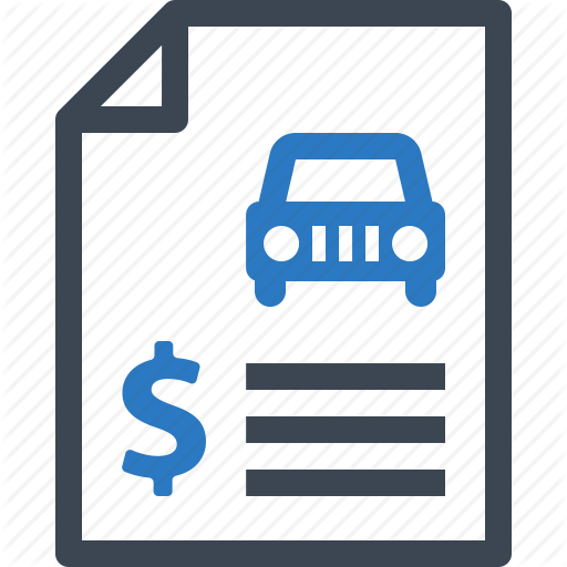 Auto Insurance, Car Insurance, Insurance Policy, Rent Contract Icon