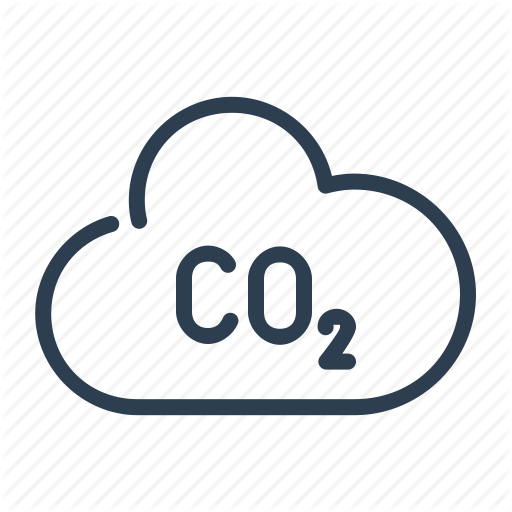 Air, Carbone Dioxide, Cloud, Disaster, Ecology, Pollution Icon