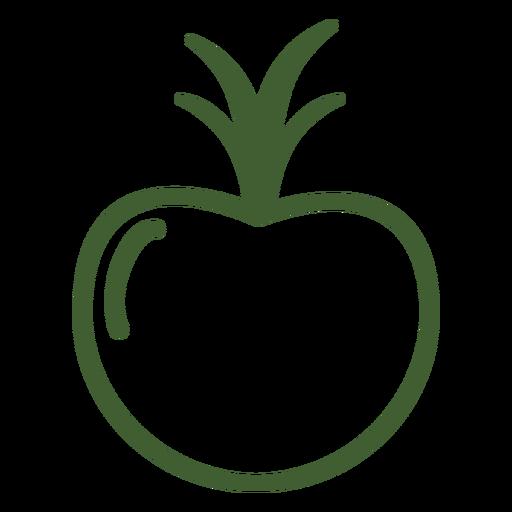 Pomegranate Fruit Icon