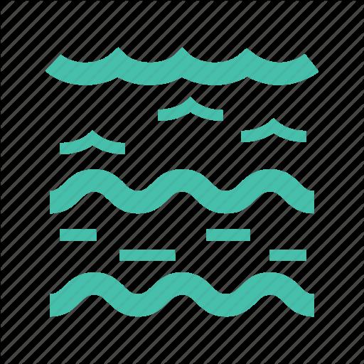 Creek, Lake, Pond, Rapids, River, Stream, Water Icon