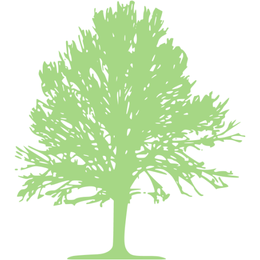 Guacamole Green Tree Icon