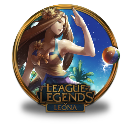 Leona, Pool, Party, Unoff Icon Free Of League Of Legends Gold
