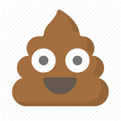 Crap, Emoji, Face, Feces, Poo, Poop, Shit Icon