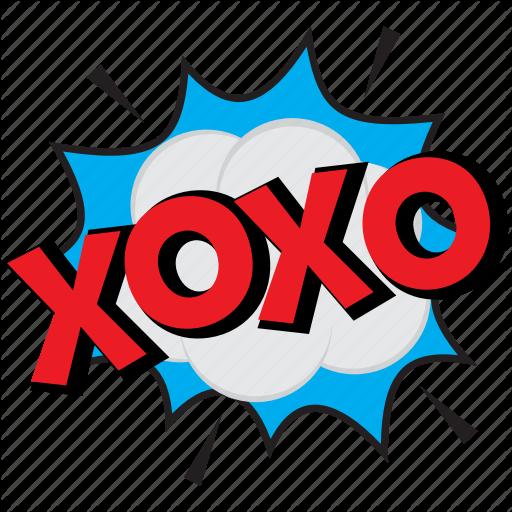 Xoxo, Xoxo Comic Art, Xoxo Comic Bubble, Xoxo Expression Bubble