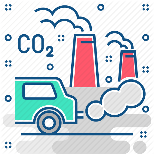 Air, Environment, Gasses, Greenhouse, Poision, Pollution, Smog Icon