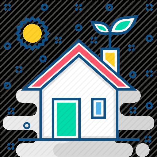 Eco, Environment, Friendly, Future, Home, House, Nature Icon
