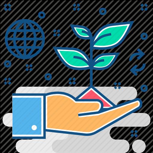 Plant, Save Icon
