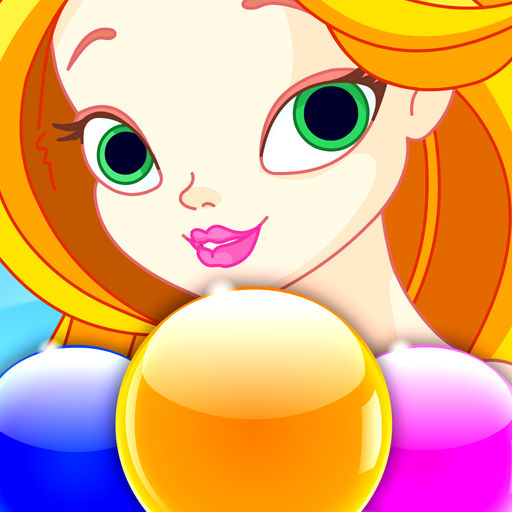 Little Mermaid World Stories Bubble Ballons Shooter