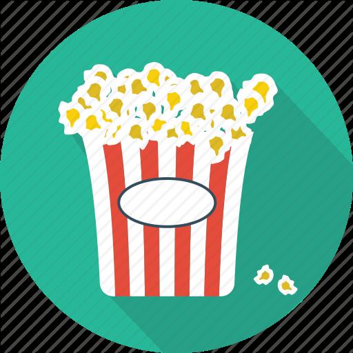 Cinema, Entertainment, Food, Movie, Pop Corn, Popcorn, Restaurant Icon