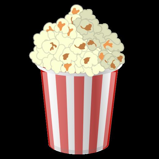 Popcorn, Food, Cinema Icon Free Of Noto Emoji Food Drink Icons