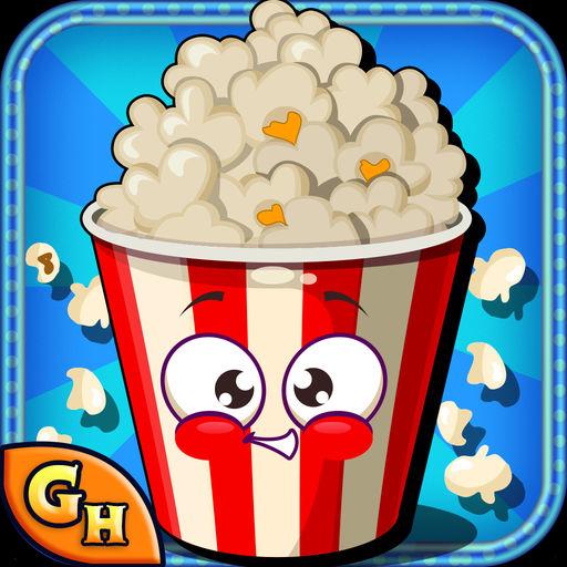 Popcorn Maker Kids Girls Free Cooking Fun Game