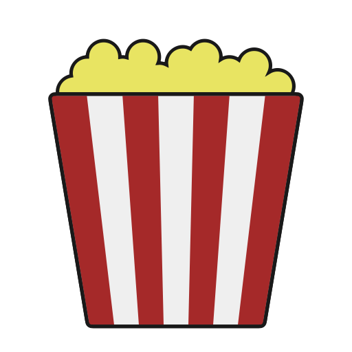 Food, Snack, Popcorn, Movie, Theater Icon