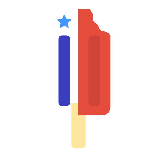 Popsicle Icon Free Of Of July Icons